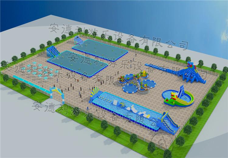 小型水上乐园规划图