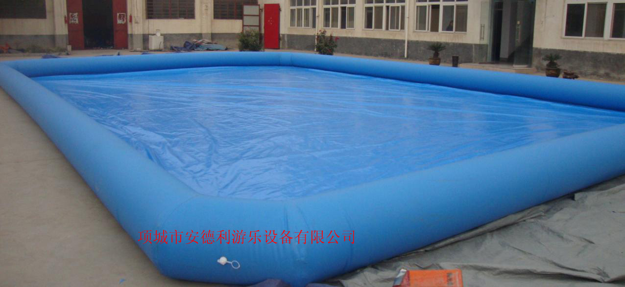 方形充氣水池